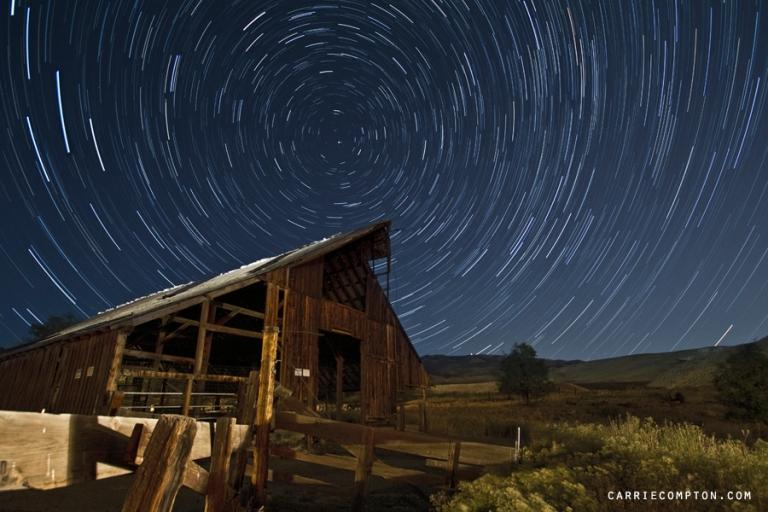 Verdi Barn Star Trails