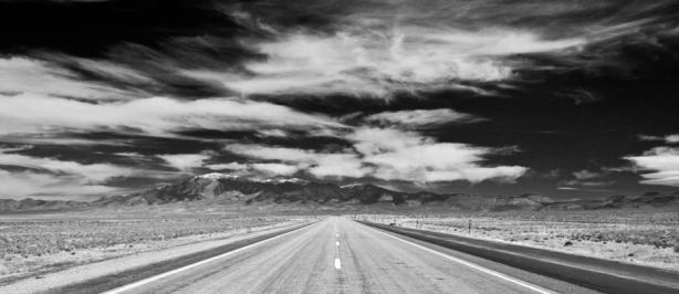 Loneliest Highway 040 - BW