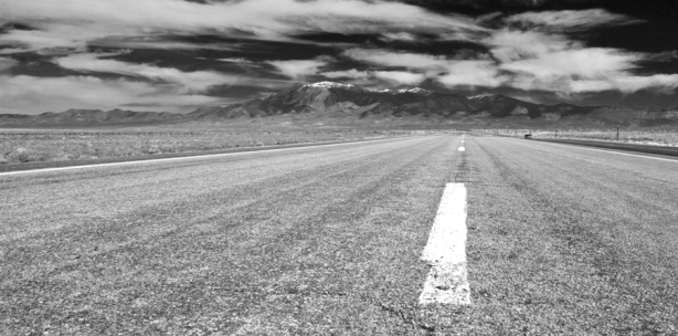 Loneliest Highway 044 -BW