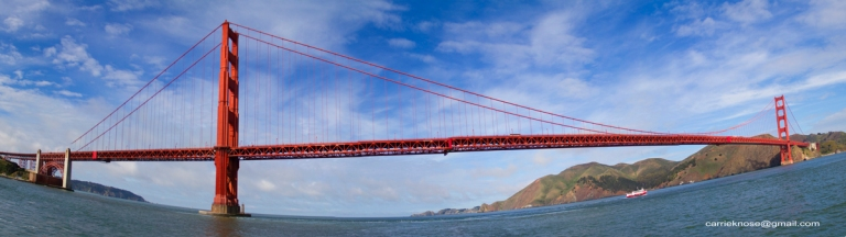 SF Random Bridge panorama